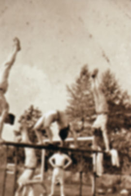 British gymnasts prepare for the 1920 Olympic Games
