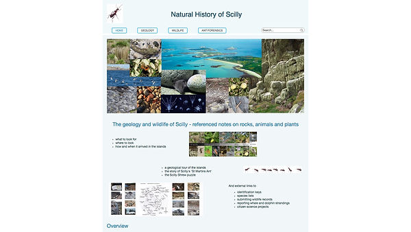 NATURAL HISTORY OF SCILLY