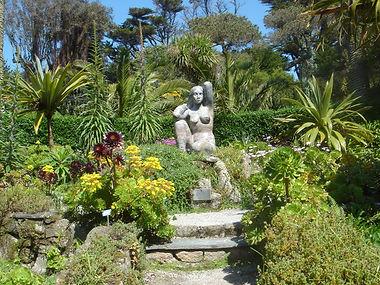 Gaia - Mother Earth statue in Tresco Abbey Garden