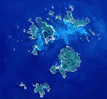View of the Isles of Scilly from Copernicus