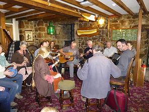 Folk Night, Bishop & Wolf, St Mary's, Isles of Scilly