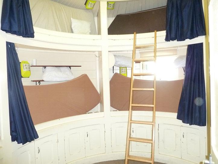 The bedroom inside Bishop Rock Lighthouse © Jon Mackenzie