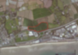 Aerial image - Penzance Heliport proposed site