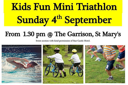 Isles of Scilly Kids Triathlon