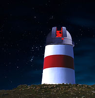 Astronomical observatory on St Martin's, isles of Scillys