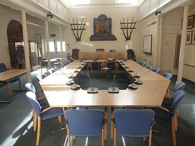 Council of the Isles of Scilly meeting chamber