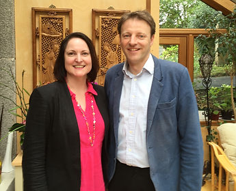 Alison Hernandez with Derek Thomas MP