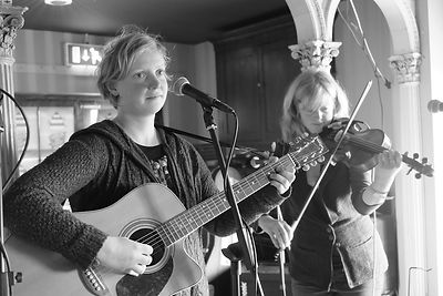 Performers at the 2016 Daymark Music Festival, St Martin's, Isles of Scilly