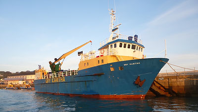 Gry Maritha at St Mary's harbour, Isles of Scilly