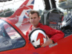 Red Arrows Wing Commander Martin Higgins