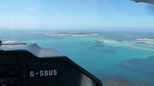 Isles of Scilly Skybus cockpit