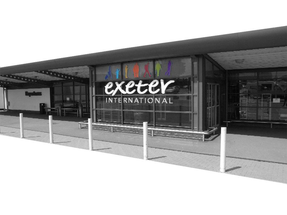 Exeter Airport by Jon Mackenzie