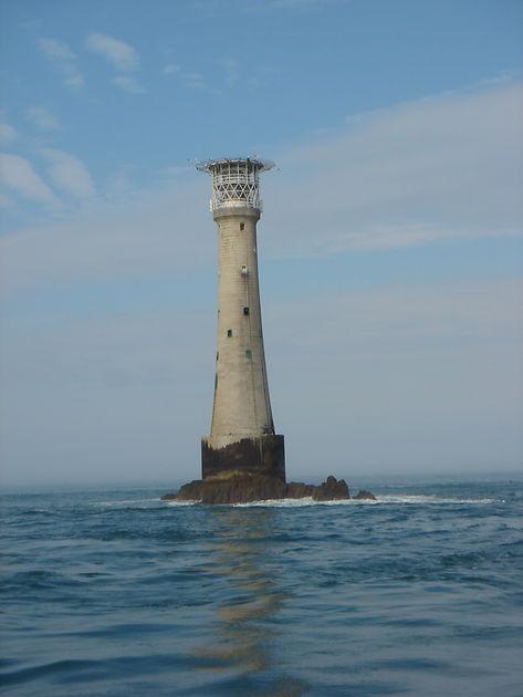 Bishop Rock lighthouse by Jon Mackenzie