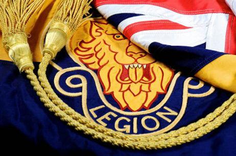 Royal British Legion flag