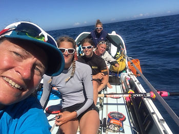 Rannoch Women's Challenge, New York to Isles of Scilly, 2016