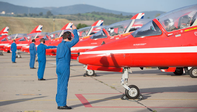 Squadron Leader David Montenegro - Red 1 (Team Leader)