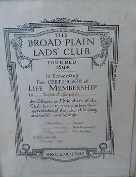 The Broad Plain Lads' Club