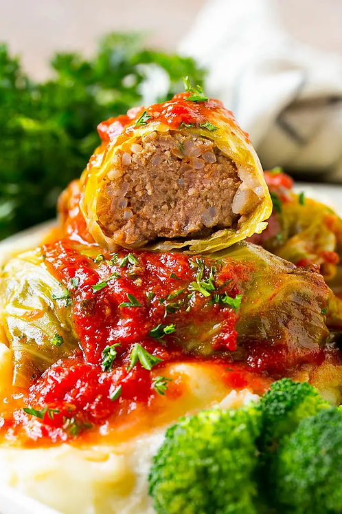 Stuffed Cabbage for Two