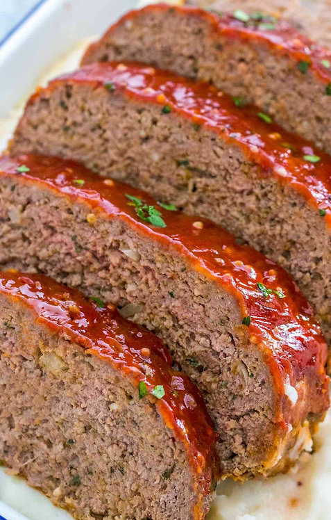 Meatloaf with Scalloped Potato