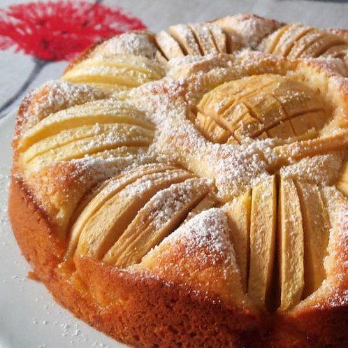 German Apple or Blueberry Cake