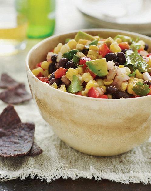 Black Bean Salad with Corn and Chipotle-Honey Vinaigrette