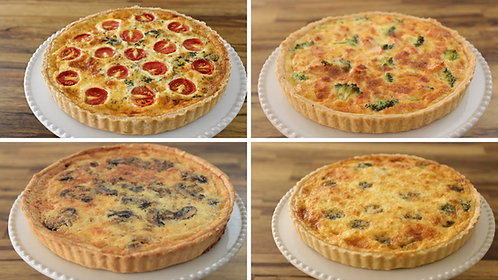 Ham & Cheese with Sweet Onion Quiche