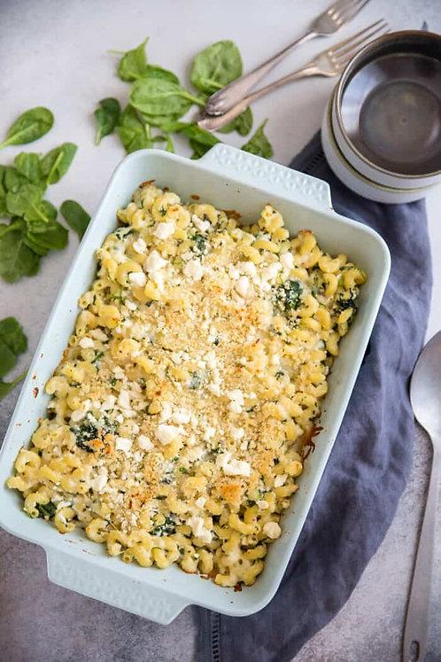 Spanakopita Macaroni & Cheese