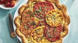 Tomato, Cheddar and Bacon Quiche