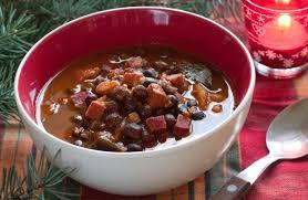 Cuban Black Bean and Sausage Soup