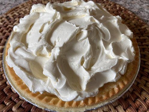 Pineapple Cream Pie with Homemade Whipped Cream