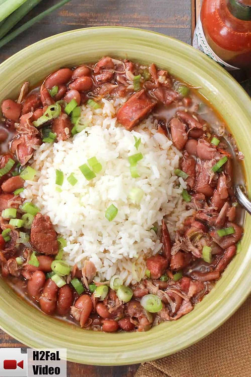 Red Beans & Rice with Smoked Pork