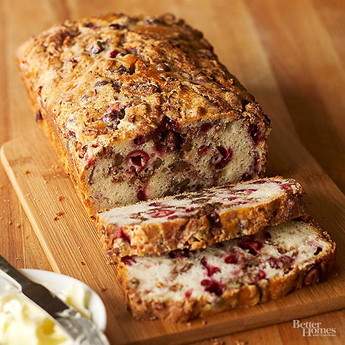 Holiday Cranberry Nut Bread