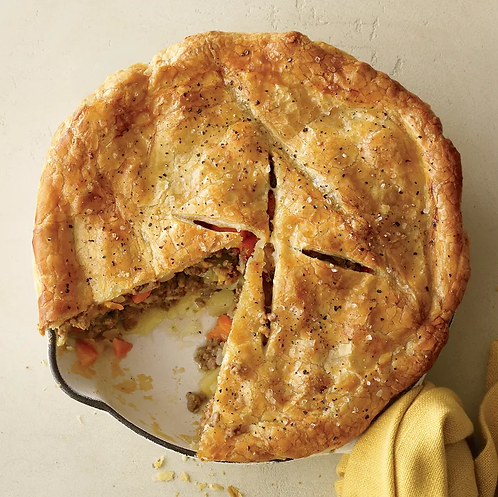 Beef and Cheddar Pie