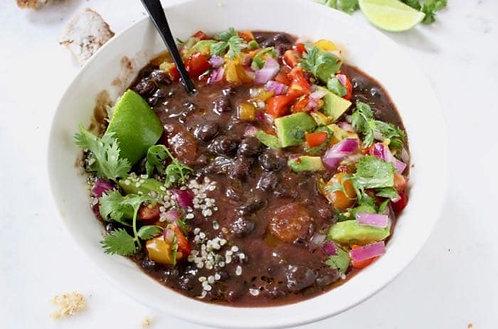 Smokey Vegan Black Bean Soup (Vegan and Gluten-Free)