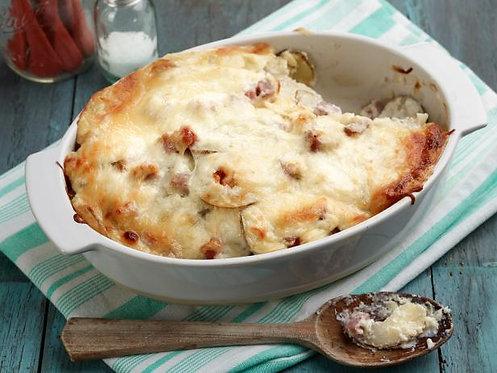 AuGratin Potato and Ham Casserole