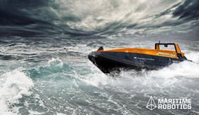 Mariner USV in Rough Seas