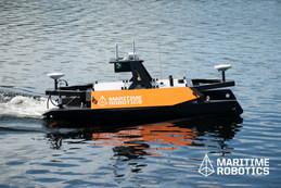 Otter USV in Water
