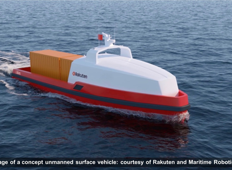 Rakuten Institute of Technology and Maritime Robotics Agree to Collaborate on Research into Unmanned