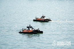Two Otter USV's