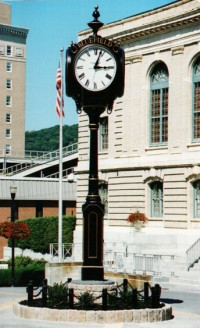 The Bluefield Clock