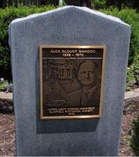 Alex Mahood Monument