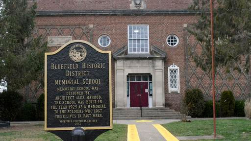 Bluefield Historical Marker