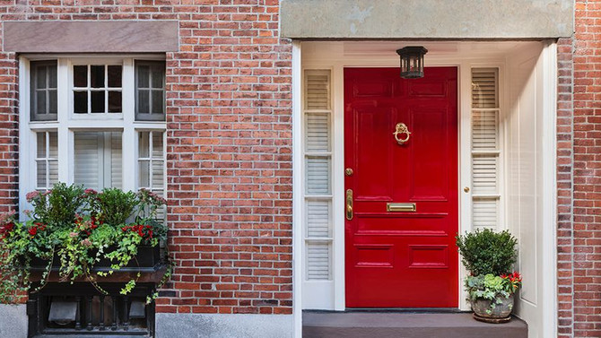 What the Color of Your Front Door Says About Your Personality