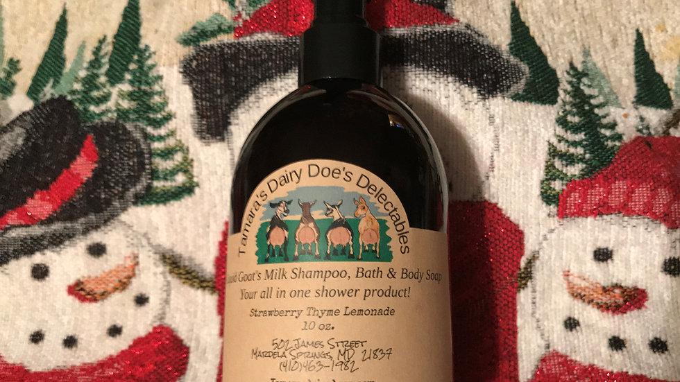 Women's Goat' Milk Shampoo/Body Wash