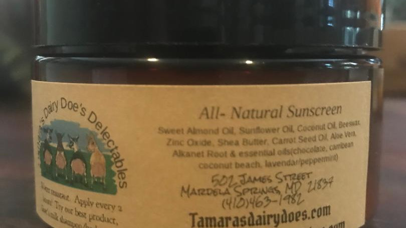 All-Natural Sunscreen