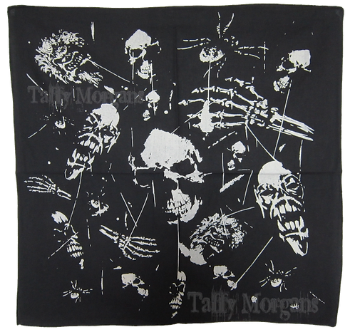 Ghostly Skulls Bandanna