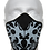 Thumbnail: Blue Flame Half Face Mask Covering