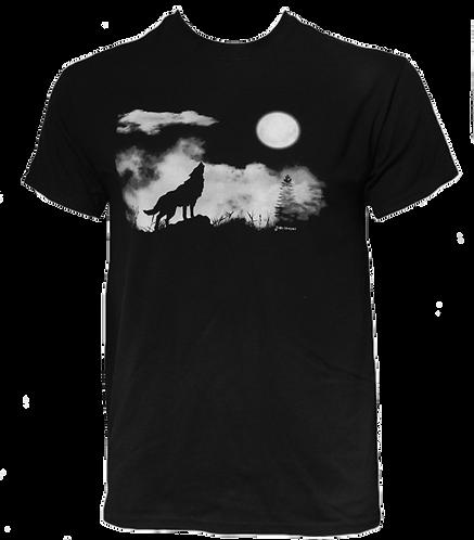 Fridolf's Moon - Double Sided Wolf Print