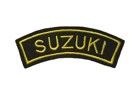 Suzuki Biker Shoulder Patch