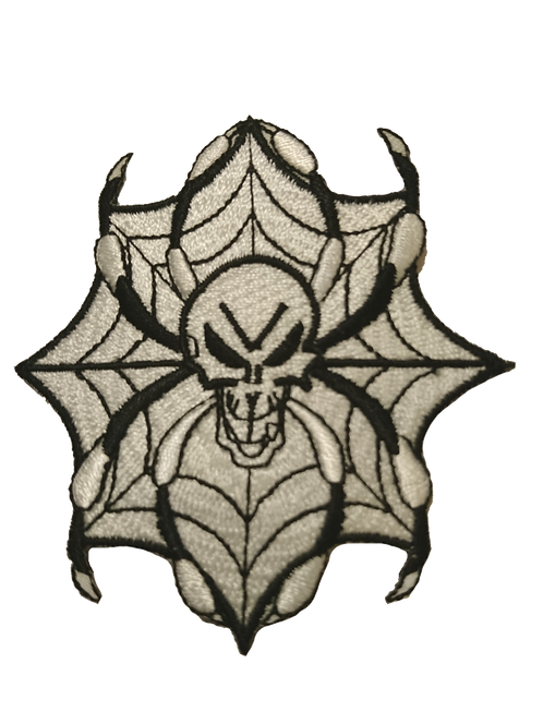 Webbed Skull Patch